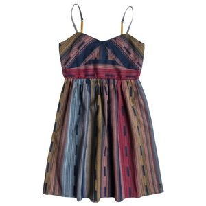 Girl's Roxy Multi-Color Tail Feathers Dress M 10